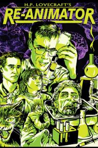 "Re-Animator Comic 12x18"" Poster"