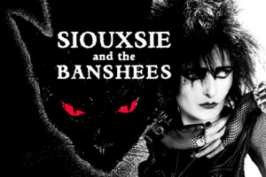"""Siouxsie And The Banshees Cat 12x18"""" Poster"""