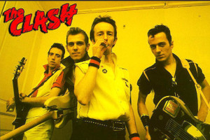 """The Clash Yellow 12x18"""" Poster"""