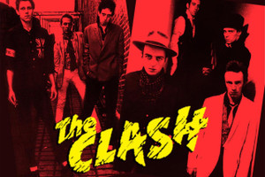 """The Clash Red 12x18"""" Poster"""