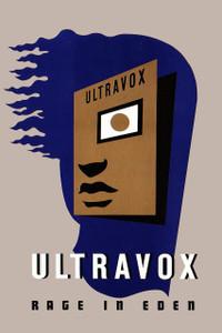 """Ultravox - Rage in Eden 12x18"""" Poster"""