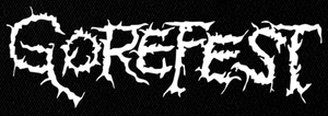 "Gorefest Logo 6x3"" Printed Patch"