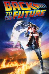 """Back to the Future 12x18"""" Poster"""