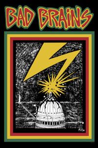 "Bad Brains 12x18"" Poster"