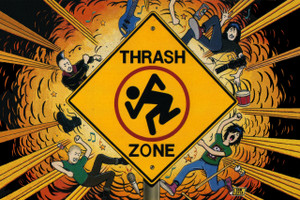 "D.R.I. - Thrash Zone 12x18"" Poster"