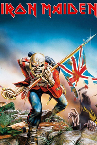 """Iron Maiden The Trooper 12x18"""" Poster"""