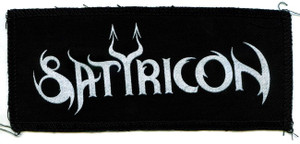 "Satyricon Logo 7x3"" Printed Patch"