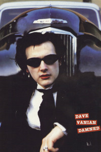"""Dave Vanian The Damned 12x18"""" Poster"""