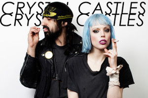 """Crystal Castles 12x18"""" Poster"""