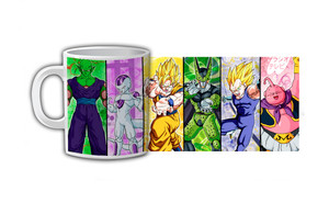 Dragon Ball Z Character Slide Coffee Mug