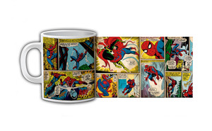 Spider-Man Comic Strip Coffee Mug