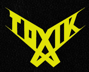 "Toxik Logo 6x5"" Printed Patch"
