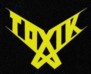 """Toxik - Logo 6x5"""" Printed Patch"""