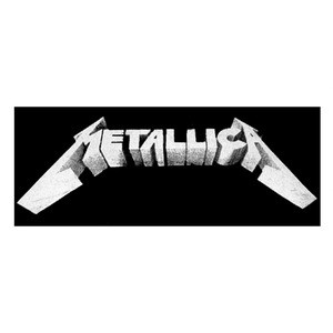"Metallica Master of Puppets 9x4"" Printed Patch"