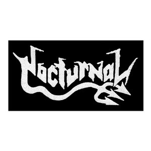 """Nocturnal - Logo 6x4"""" Printed Patch"""