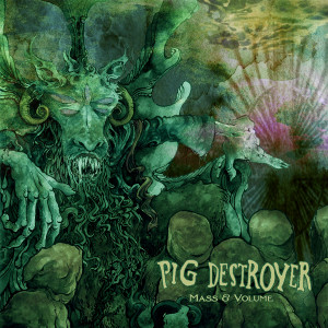 "Pig Destroyer - Mass & Volume 4x4"" Color Patch"