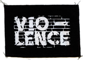 "Vio-lence Logo 6x4"" Printed Patch"