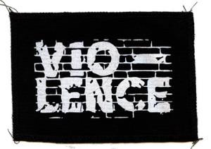 "Vio-lence - Logo 6x4"" Printed Patch"