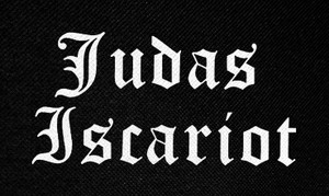 "Judas Iscariot Logo 4.5x3"" Printed Patch"