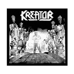 """Kreator - Terrible Certainty 6x6"""" Printed Patch"""