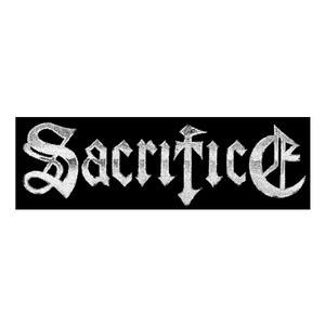 """Sacrifice - Logo 6x2"""" Printed Patch"""