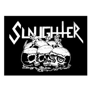 """Slaughter - Logo 5x4"""" Printed Patch"""