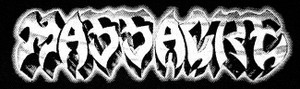 "Massacre - Logo 7x3"" Printed Patch"