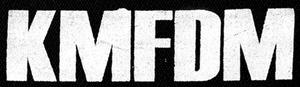 "KMFDM Logo 6x3"" Printed Patch"