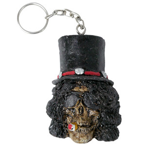 Slash Head Keychain