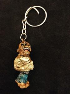 Eddie Piece of Mind Iron Maiden Keychain