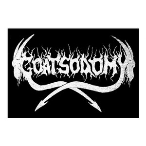 "Goatsodomy Logo 6x4"" Printed Patch"