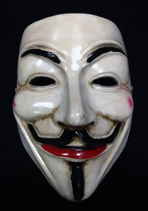 Guy Fawkes Hard Face Mask