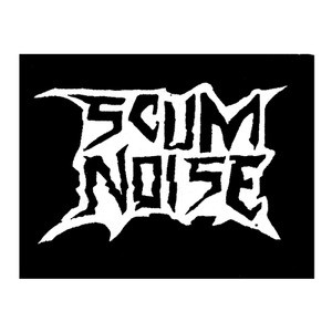 "Scum Noise Logo 5x4"" Printed Patch"