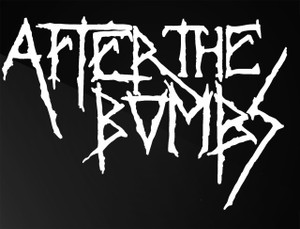 """After The Bombs Logo 5x4"""" Printed Sticker"""