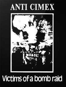 "Anti Cimex - Victims of a Bomb Raid 4x5"" Printed Sticker"