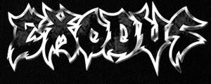 "Exodus - Logo 6x3"" Printed Patch"