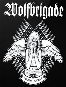 "Wolfbrigade - Dogmas Corrode 4x5"" Printed Sticker"