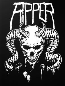 """Ripper - Into Oblivion 4x5"""" Printed Sticker"""