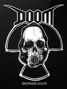 "Doom - Doomed Again 4x5"" Printed Sticker"