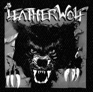 "Leatherwolf Album Cover 5x5"" Printed Patch"