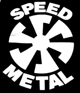 "Speed Metal Sun 7x5"" Printed Patch"