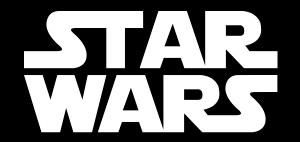 "Star Wars Logo 2.75x5.75"" Printed Sticker"