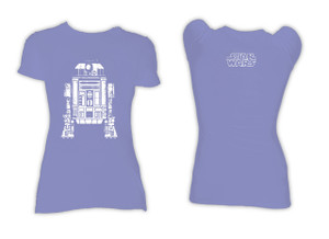 R2D2 Blue Blouse Girls Star Wars