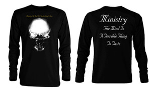 Ministry The Mind is a Terrible Thing Long Sleeve T-Shirt