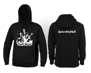 Discharge - Fight Back Hooded Sweatshirt
