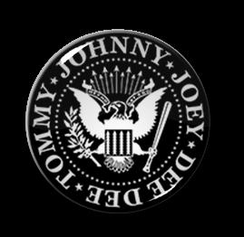 "The Ramones Logo 2.25"" Pin"