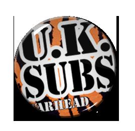 """U.K. Subs - Warheads 2.25"""" Pin"""