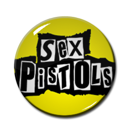 "Sex Pistols Logo 2.25"" Pin"