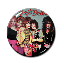"New York Dolls Color 2.25"" Pin"