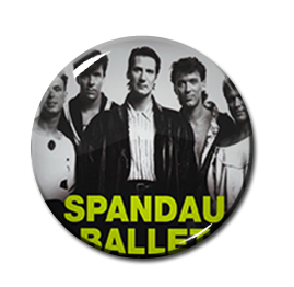 "Spandau Ballet - Essential 2.25"" Pin"